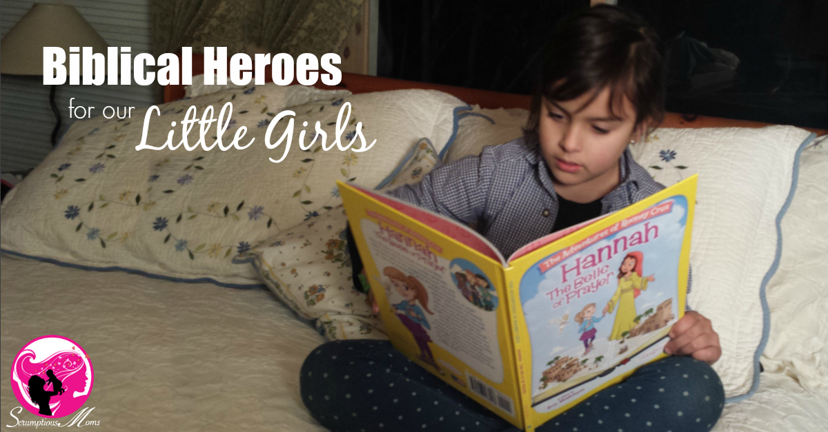Biblecal Heroes for our Little Girls title Image