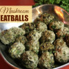 Garlic and Mushroom turkey Meatballs recipe image