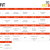 BeFit 30 Day Fat Burn Review and Giveaway