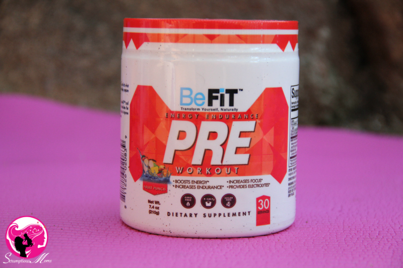 BeFit Pre-Workout container