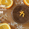 Orange Coconut Dark Chocolate Mousse Title image
