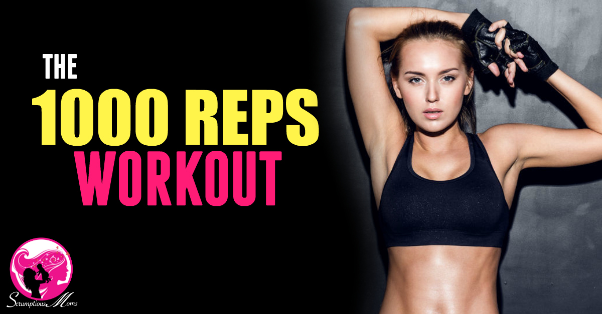 The One Thousand Reps Workout Title image