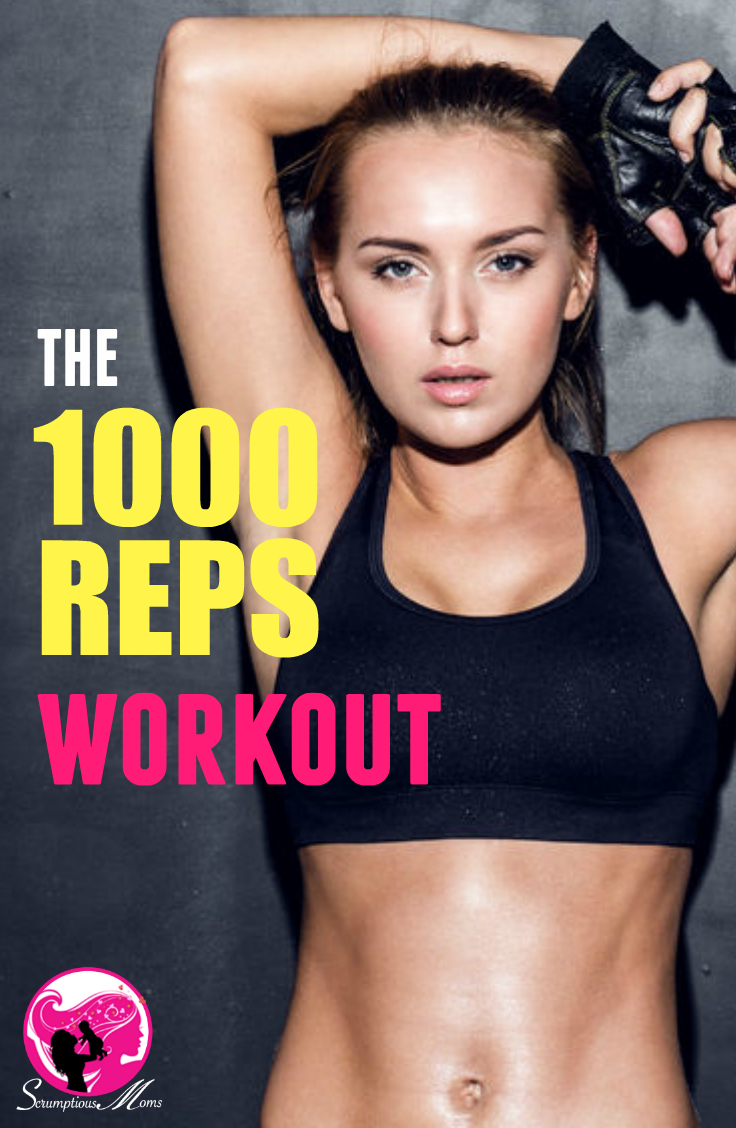 The 1000 reps Workout Title Image