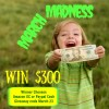 March Madness $300 Cash Giveaway!