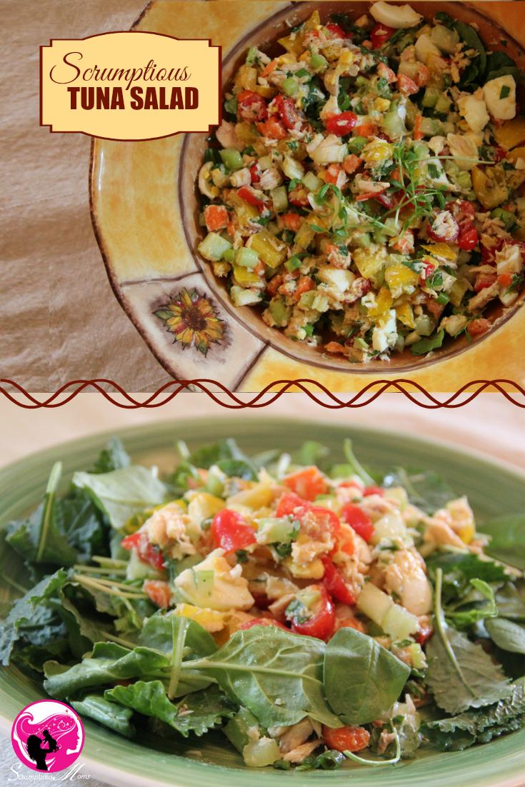 scrumptious tuna salad composiite