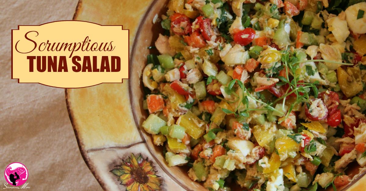 Scrumptious Tuna Salad Title image