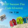 summer cash giveaway title image