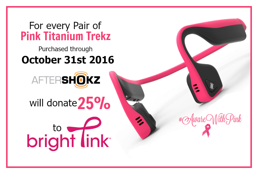 Aftershokz Aware with Pink 25% offer