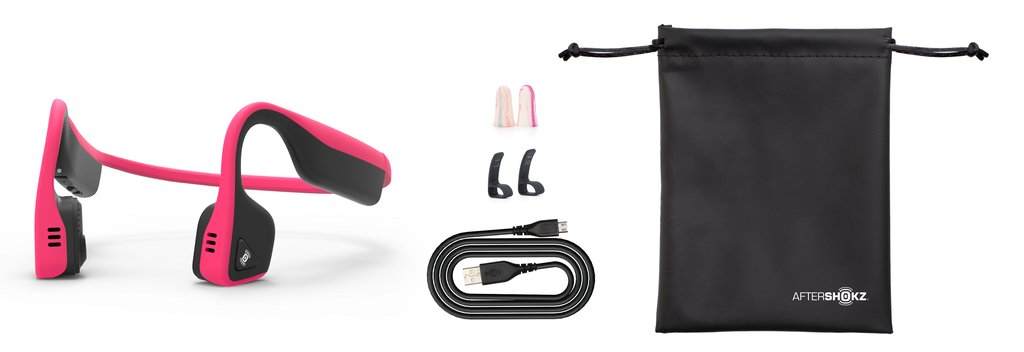 Everything that comes with Aftershokz trekz