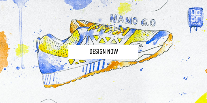 Reebok Design Your Own Show graphic