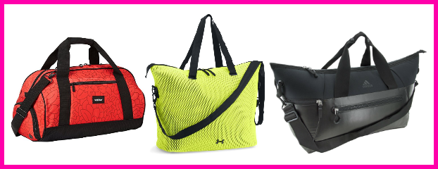 Stylish Totes for fitness gear