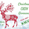 Christmas $300 Cash Giveaway