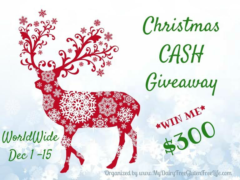 Christmas Cash Giveaway Title Image