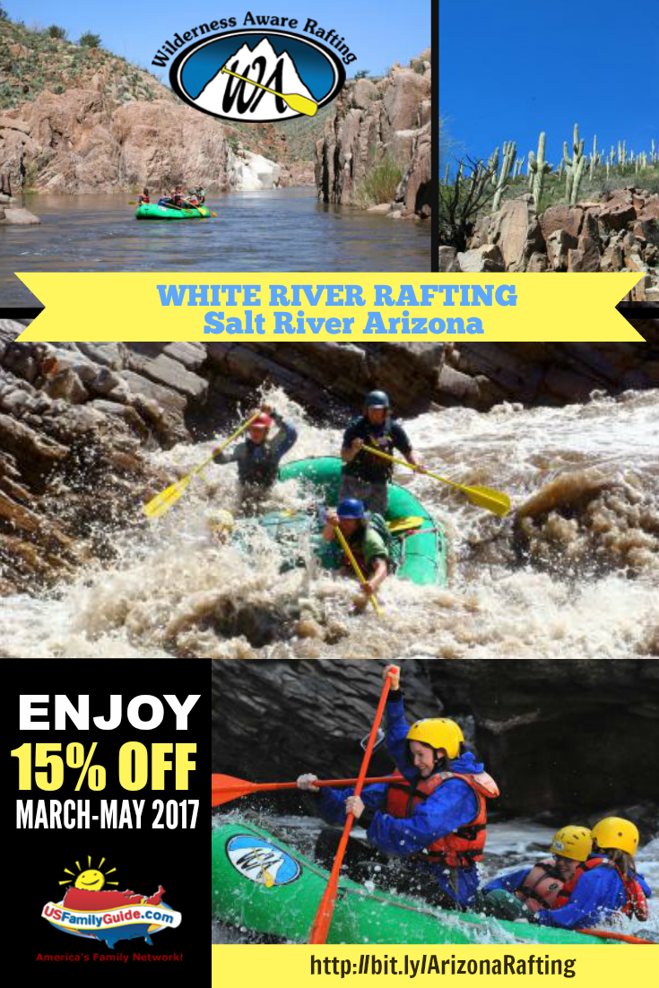 White River Rafting USFG Collage
