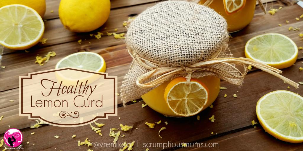 Healthy Lemon Curd Title Image