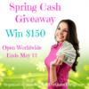 Spring Cash Giveaway title image