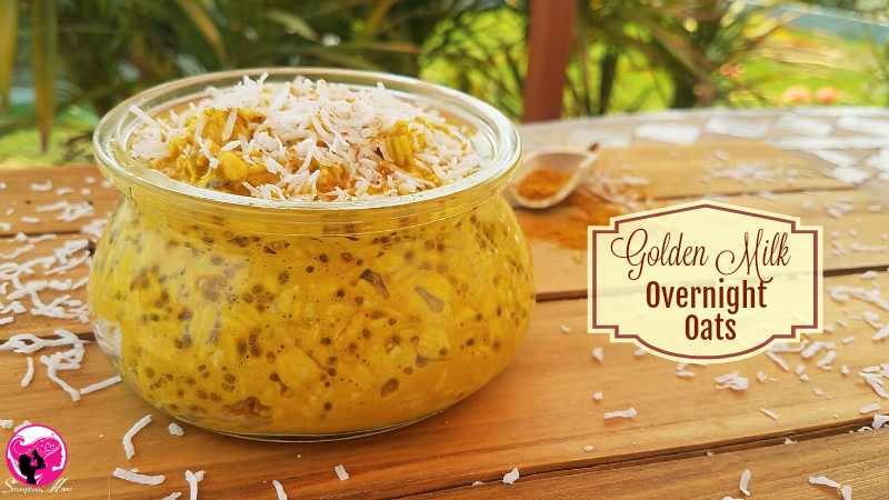 Golden Milk Overnight Gluten Free Oats
